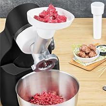 Moulinex Wizzo Robot De Repostería Con Kit Para Masas, 700 W, 4 ...