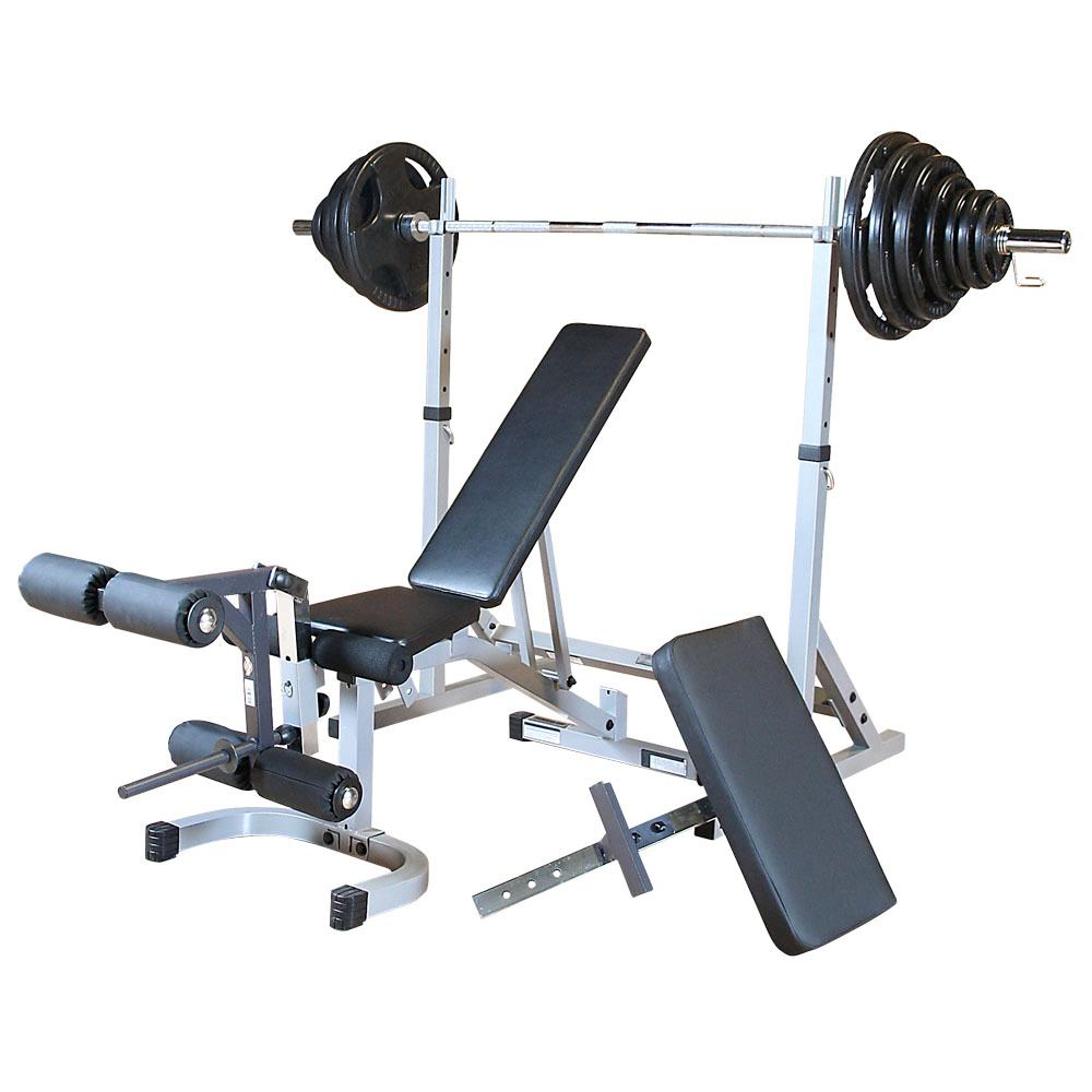 Power Rack With Weights: Amazon.com: Body-Solid Powerline PSSPACK2 Squat Rack