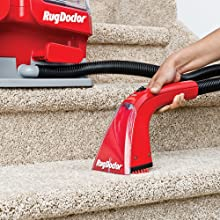 great for stairs, small, portable, cleaning machine, attachment, suction, quickly removes, doctor