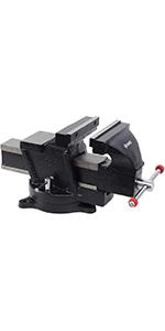 GROZ 4-inch Mechanic's Bench Vise