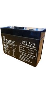 Bateria AGM 6-12 Ah 12V
