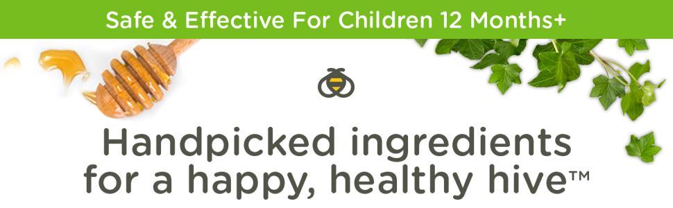 Xi-rô ho của trẻ em Naturals Naturals + Mucus, Hương vị nho tự nhiên