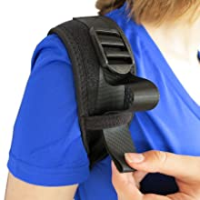 Shoulder Adjustment for ComfyMed Posture Corrector CM-PB16