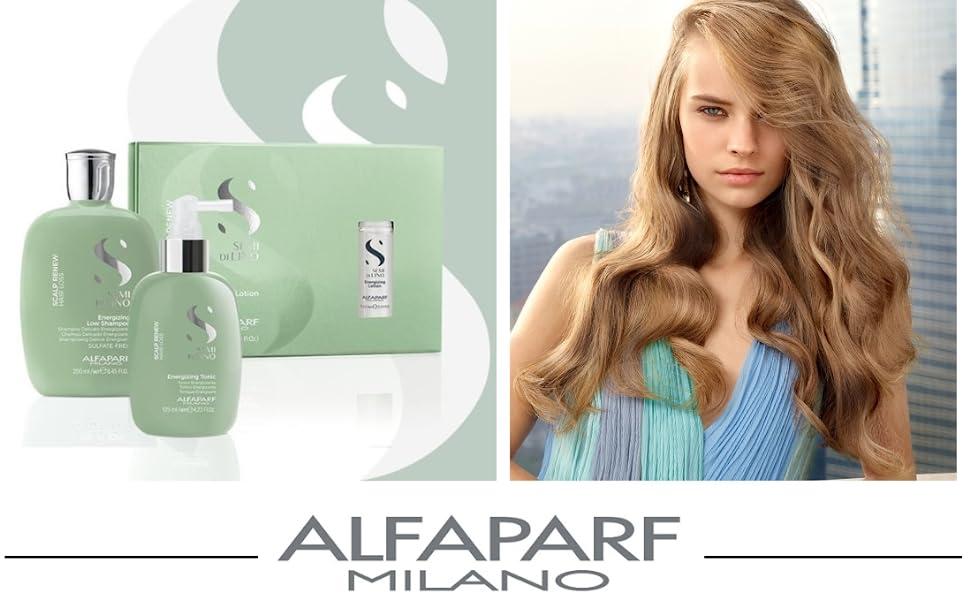 Alfaparf Milano Semi Di Lino Shampoo conditioner mask hair products damaged dry alfa parf cristalli