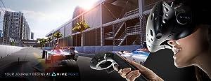 HTC VIVE ヘッドセット ヘッドマウント ディスプレイ HMD Steam スチーム VR Valve バーチャル リアリティ ルームスケール