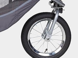 Baby Trend Race Tec Travel Jogger quick release wheel