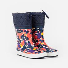 Giboulée bottes pluie enfant après-ski multicolore