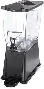 beverage dispenser,premium dispenser, compact dispenser, plastic dispenser