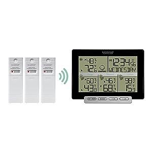 lacrosse, la crosse technology, 308-1412, digital, weather, thermometer, hygrometer, wireless