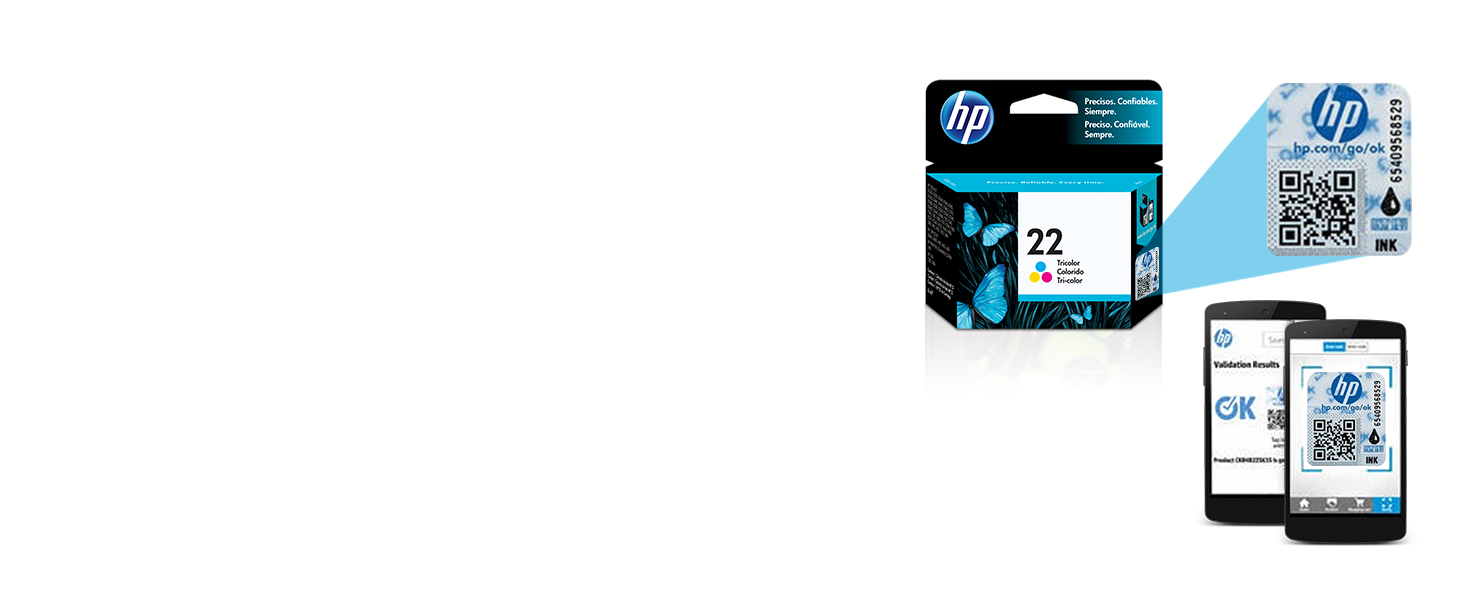 Amazon.com: HP 22- Cartucho de tinta tricolor original ...