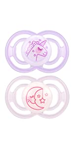 Amazon.com: MAM Perfect Night 2 Piece Baby Pacifier, Niña: Baby
