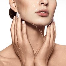 Cleanses skin