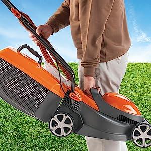 Flymo Chevron 32V Electric Wheeled Lawn Mower 1200 W Cutting Width 32 cm