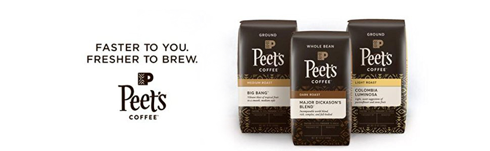 peet's coffee, dark roast coffee, coffee maker, french roast, starbucks, ground coffee, Keurig,k-cup
