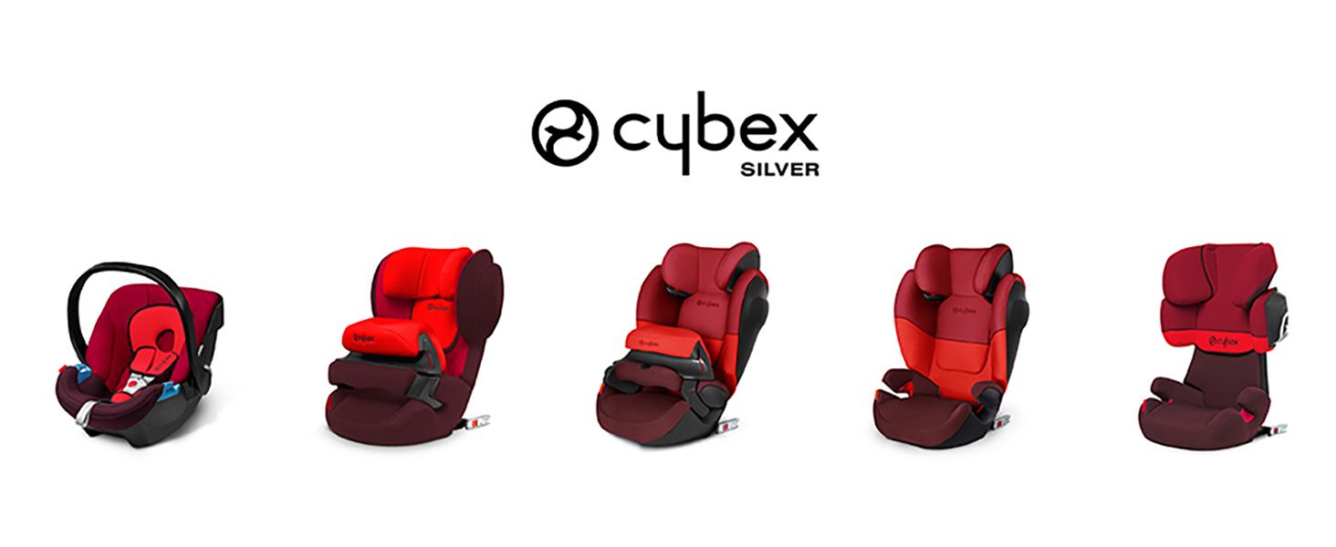 Adapt/é aux Voitures Avec ou Sans Isofix Purple Rain CYBEX Silver Si/ège Auto Solution X2-Fix De 3 Ans /à 12 Ans Environ 15-36 kg Groupes 2//3