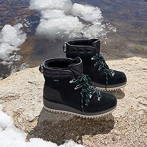 cd1c77dee82 UGG Women's W Birch Lace-up Snow Boot