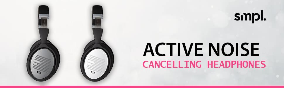 Smpl Active Noise Cancelling Headphones Bluetooth Elektronik