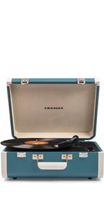 Amazon.com: Crosley CR8017A-DU Voyager Vintage Portable ...