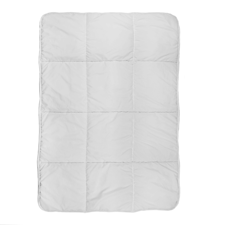 Amazon.com : Tadpoles Toddler Comforter, Box Pattern/White : Baby