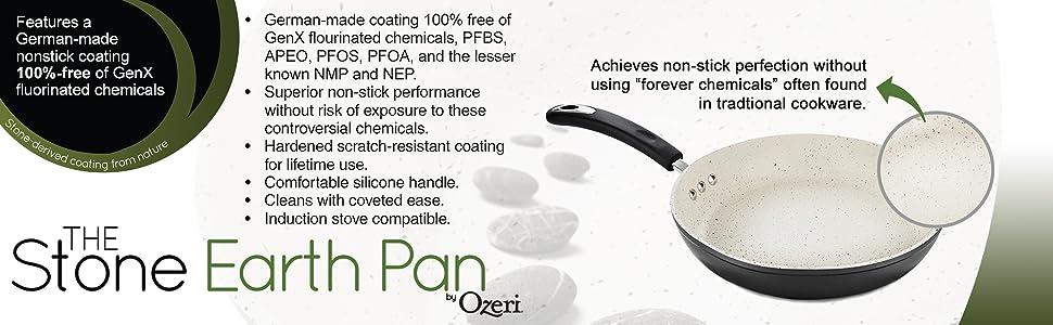 rying pan, induction pan, nonstick pan, omelette pan, pfoa free pan, professional pan, skillet