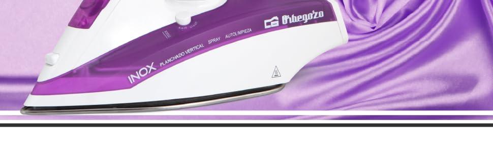 Orbegozo SV 2205 - Plancha ropa vapor, 2200 W de potencia, suela INOX, función autolimpieza, sistema de vapor vertical y regulador de temperatura: Amazon.es: Hogar