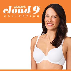 cf569dceff Amazon.com  Warner s Women s Cloud 9 Underwire Lace Back Contour ...
