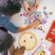 Real life skills business math observation make pizza and learn math learning education toys