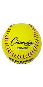 Champion Sports Softball SB147NF