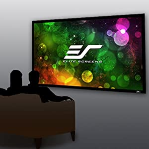 Sable Frame B2, Elite Screens, Projector Screen, Projection Screen, Fixed Frame,