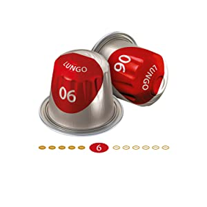 Jacobs Kapseln Lungo Classico - Intensität 6-200 Nespresso