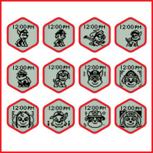 Tell Time with 12 PAW Patrol faces