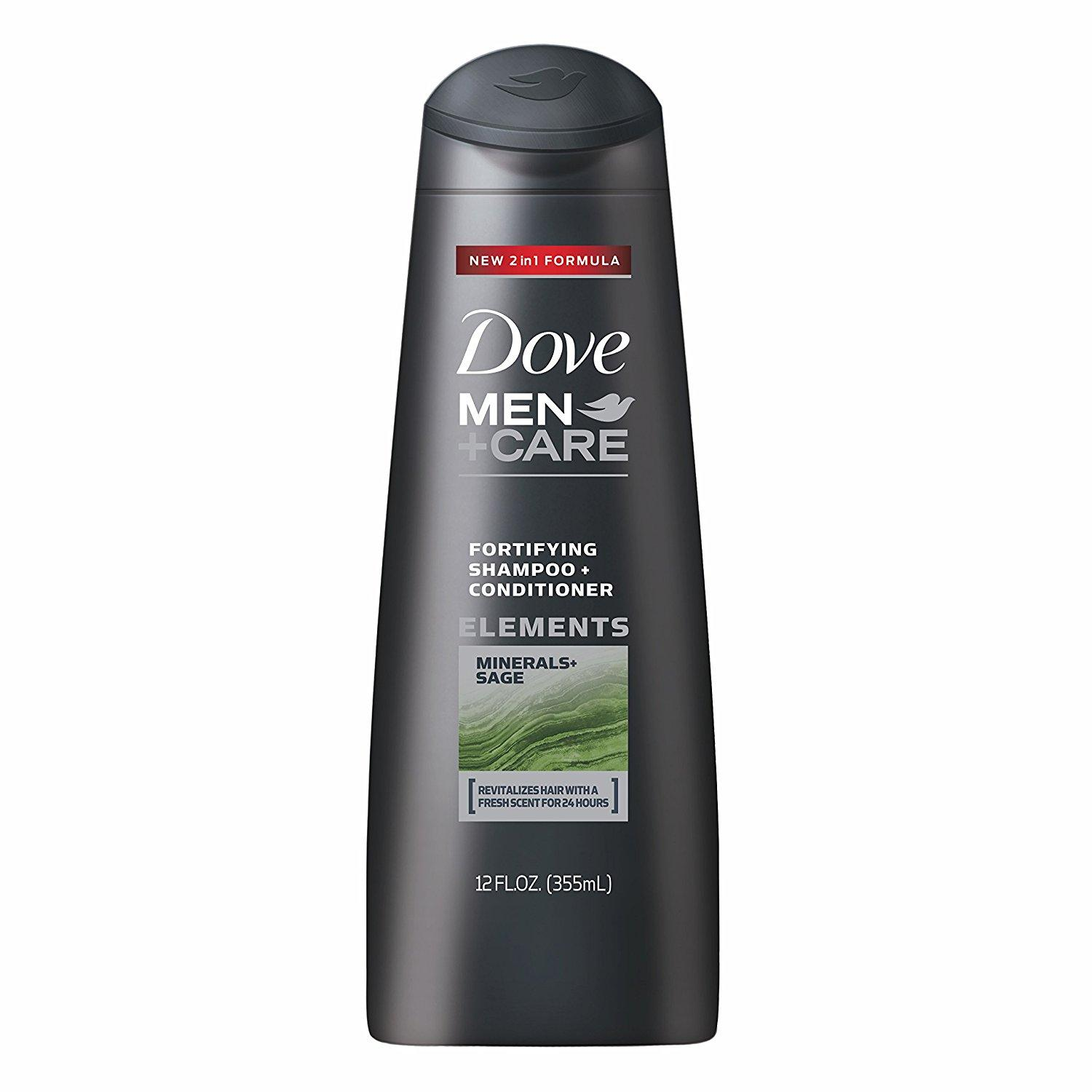 dove men care shampoo