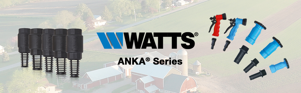 Watts, ANKA, pipe fittings, agricultural