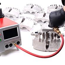 OEC pressure tested, stock replacement, power stop, brake caliper, stock