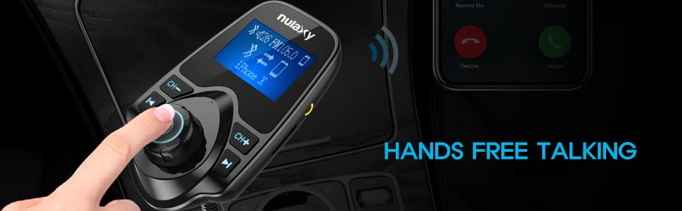 KM18 Bluetooth FM Transmitter