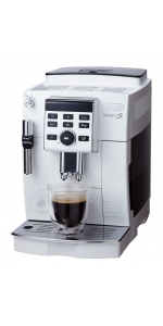 デロンギ コンパクト全自動コーヒーマシン マグニフィカS ホワイト