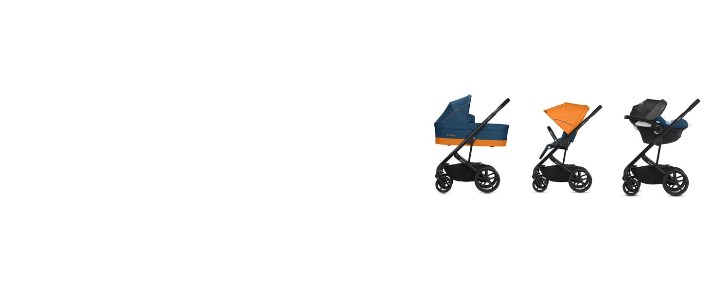 CYBEX Gold Kinderwagen Balios S ca. 4 Jahre Ab Geburt bis 17 kg Love