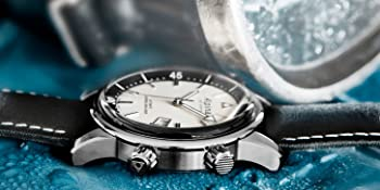 Alpina Seastrong Horological Smartwatch, Swiss Quartz, Dive Watch