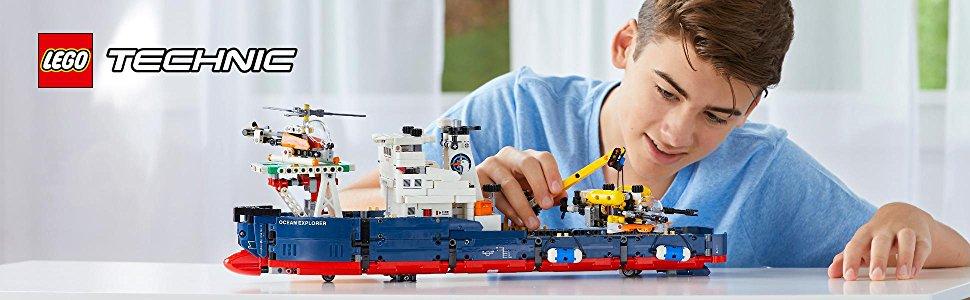 LEGO Technic - Le navire d'exploration - 42064 - Jeu de