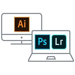 すべての製品とサービスが利用できるコンプ リートプランのほか、Illustratorなどの単体製品プランをご用意。ご自身に合ったプランを選べるように。