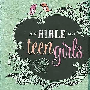 NIV Bible for Teen Girls Growing in Faith Hope and Love Zondervan