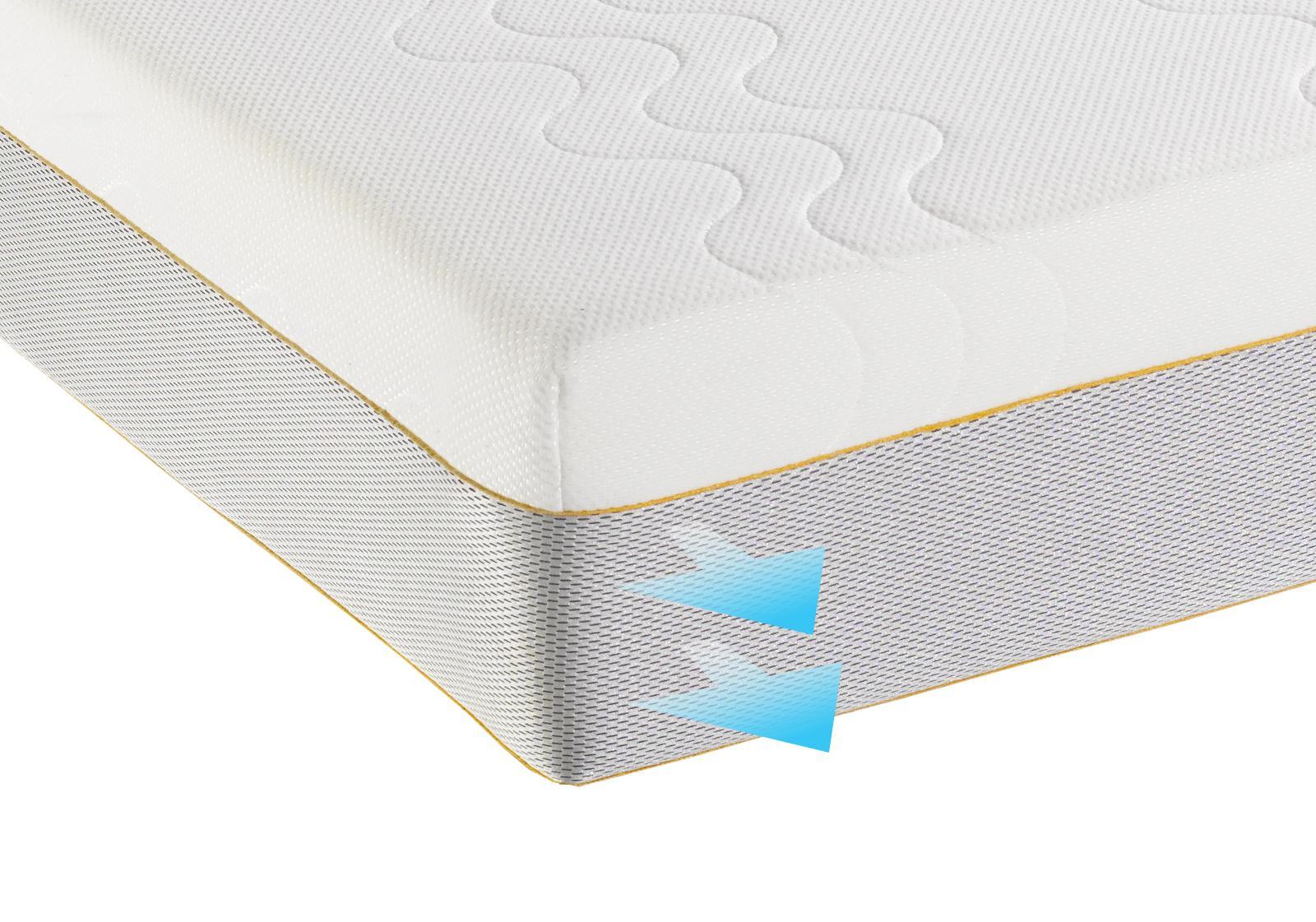 Dormeo Options Double Hybrid Mattress With Cotton White