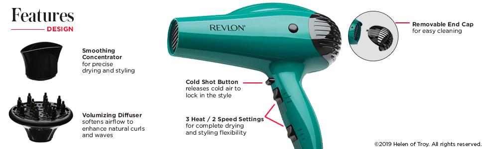 RVDR5036, revlon, revlon appliances, volume, hair dryer, hair dryers
