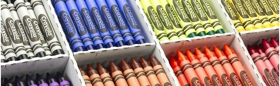 Crayola School Supplies Banner