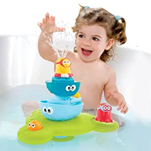 Yookidoo fun play learn splash bath toy activity