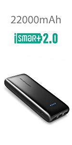 Amazon.com: Portable Charger RAVPower 16750mAh Power Bank ...