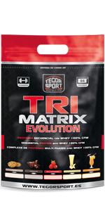 Tegor Sport TriMatrix - 2500 gr: Amazon.es: Salud y cuidado ...