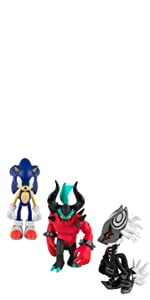"""Sonic Classic 3"""" Collector Figure, Pack of 3"""