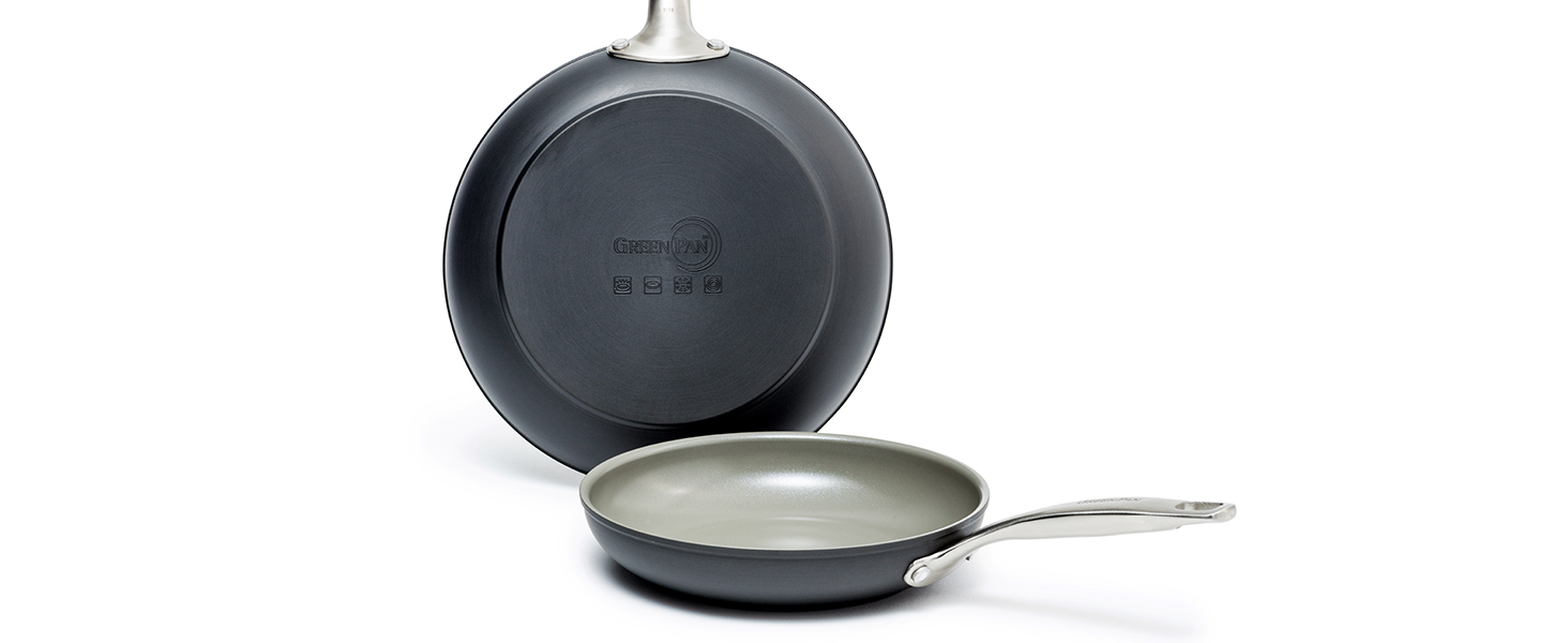 GreenPan, Chatham, Healthy Ceramic Nonstick, fry pans, hard anodized, scratch-resistant, dishwasher