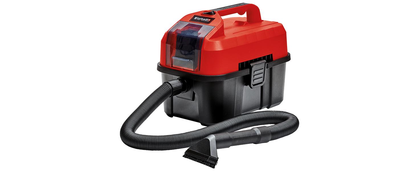 Einhell TE- VC 18/10 Li Solo Aspirador seco-húmedo + Kit con Cargador y batería de Repuesto de 18 V, 4 Ah, 0 W, 21 V, 4.0, Tiempo de Carga 60 Minutos: Amazon.es: Bricolaje y herramientas
